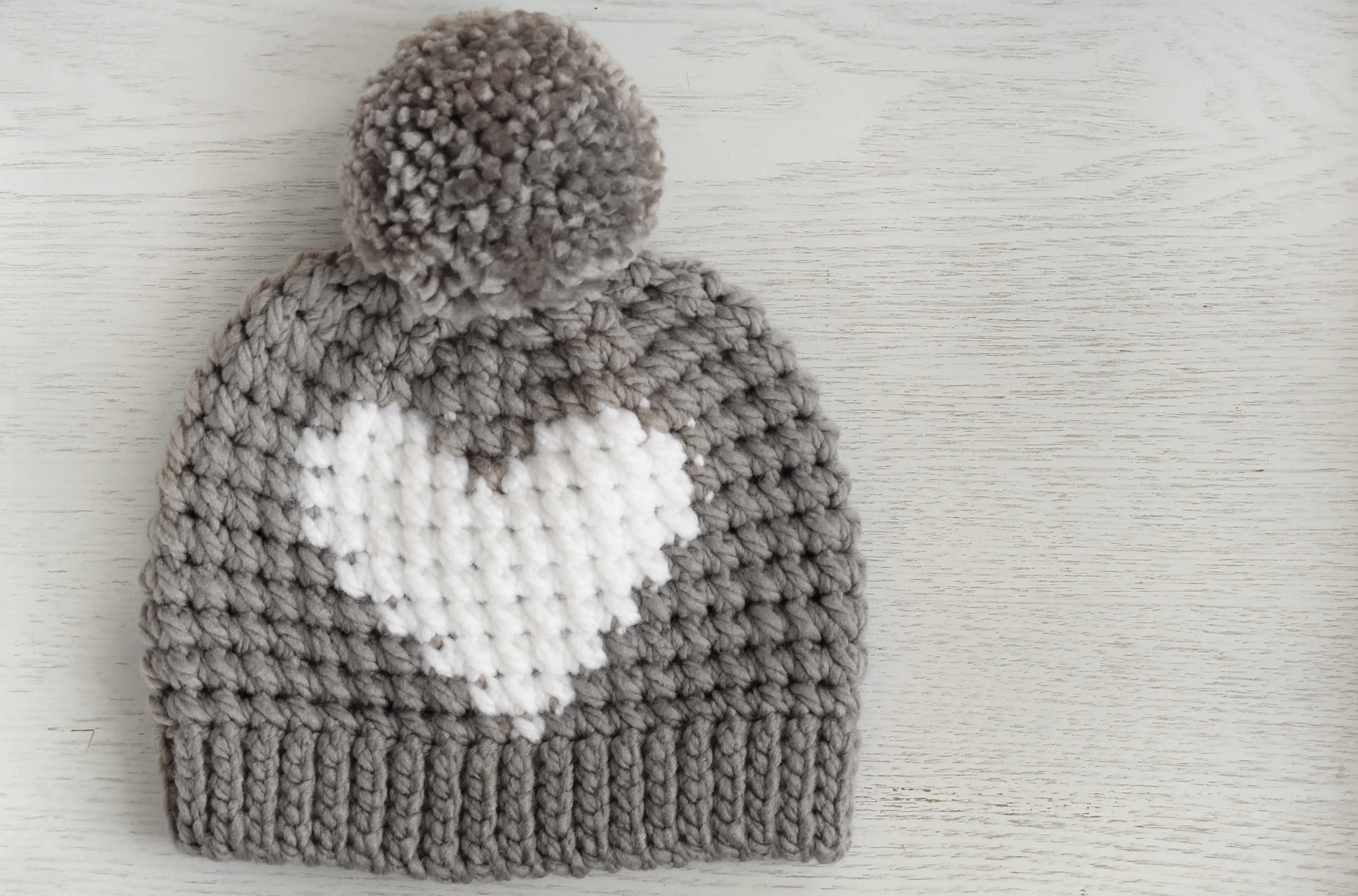 Hunter Crochet Heart Hat Free Pattern Lakeside Loops