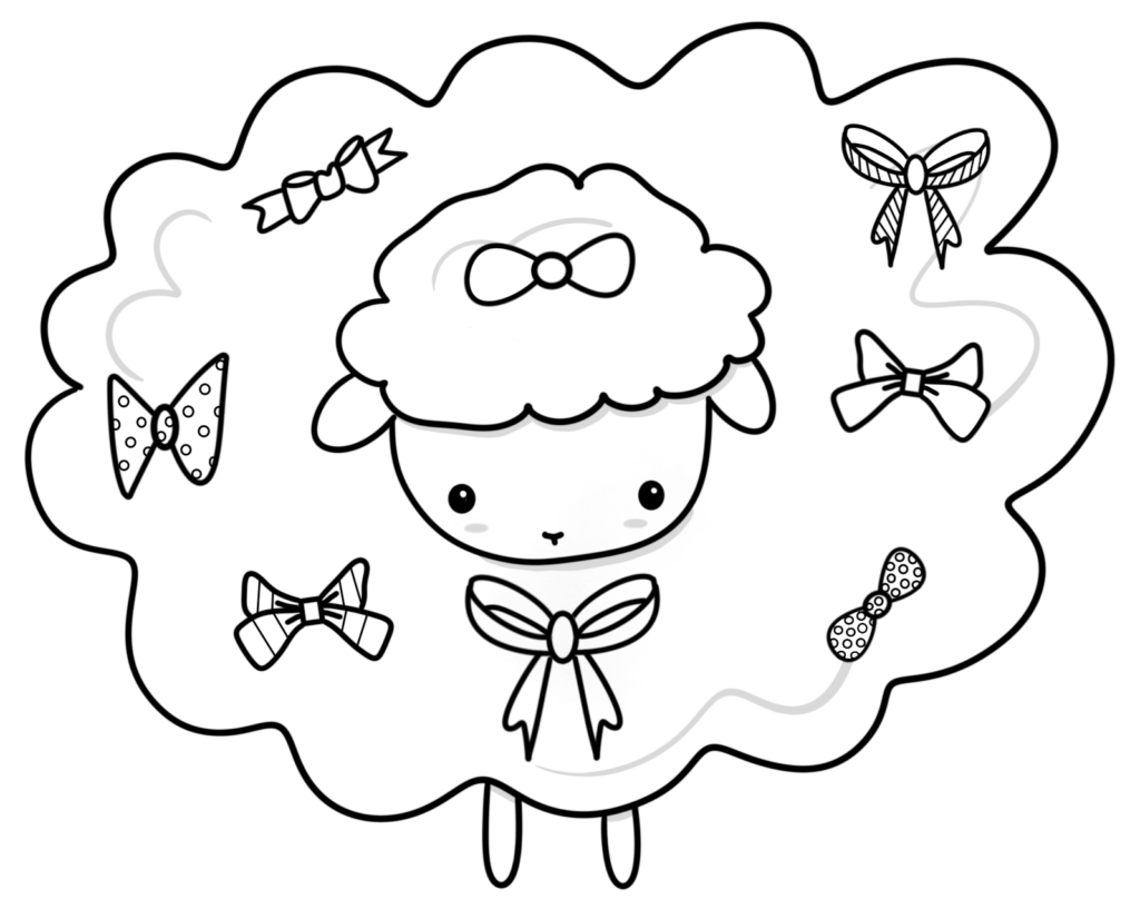 Kids Crochet Colouring Pages - Free Downloads - Lakeside Loops